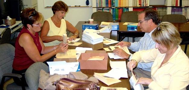 Preparing a Mailing
